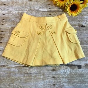 Girls yellow skirt by Gymboree is like new Size 4